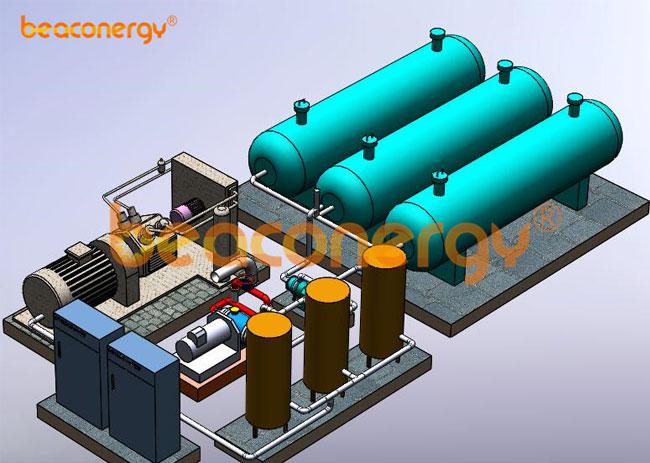 压缩空气储能发电系统