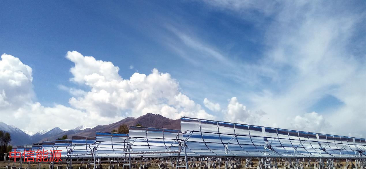 西藏达孜槽式太阳能农业温室供热项目