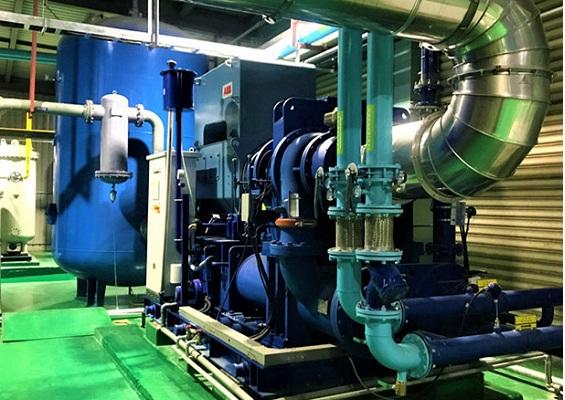 江西空压机综合节能利用系统工程开发、设计与集成总包