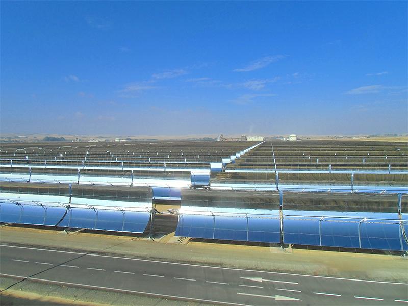 槽式太阳能高温集热供热